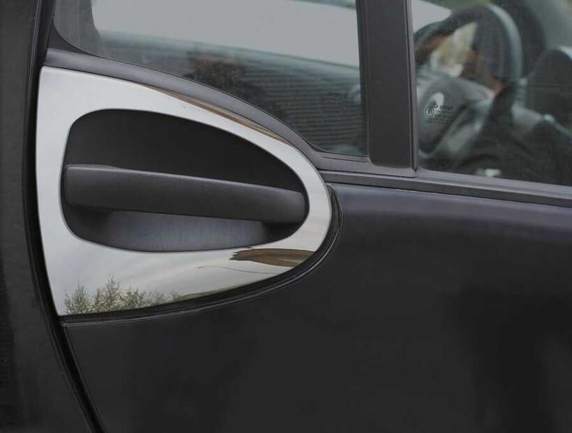 Krom Aksesuar » Omsa - Mercedes Smart Krom Kapı Kolu Çerçevesi 2 Parça 2007 ve Sonrası