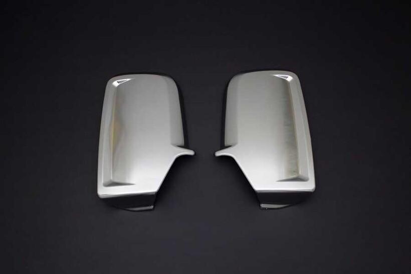 Krom Aksesuar » Omsa - Mercedes Sprinter Saten Krom Ayna Kapağı 2 Parça Abs 2006-2018 Arası