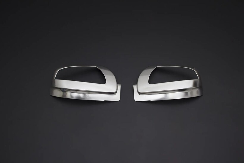 Krom Aksesuar » Omsa - Mercedes Viano Facelift Saten Krom Ayna Kapağı 2 Parça Abs Sinyalli 2010-2014 Arası