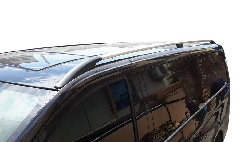 Tavan Çıtaları - Mercedes Vito/W447 Solid Tavan Çıtası Alüminyum Orta Şase 2014 ve Sonrası
