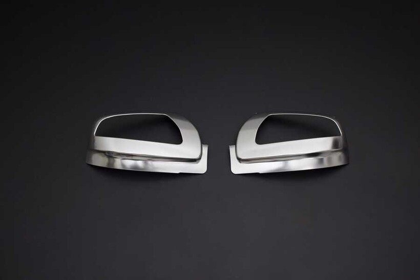 Krom Aksesuar » Omsa - Mercedes Vito/W639 Facelift Saten Krom Ayna Kapağı 2 Parça Sinyalli 2010-2014 Arası