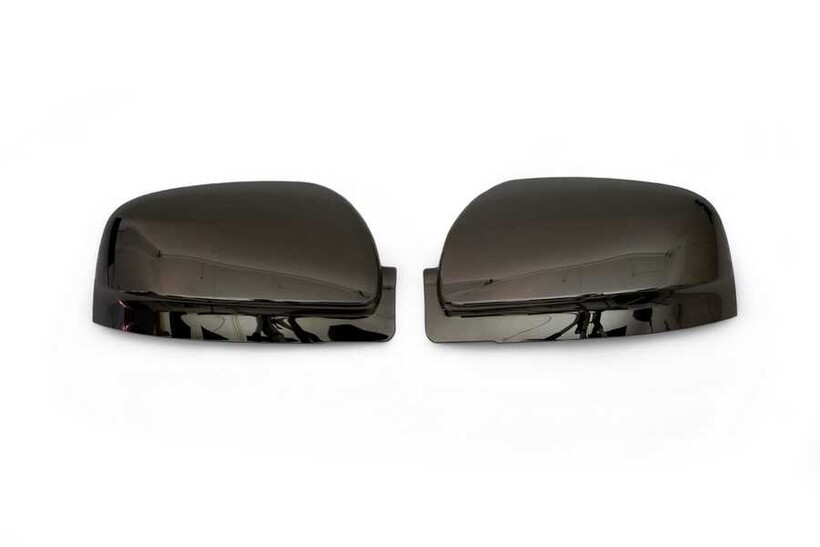 Krom Aksesuar » Omsa - Mercedes Vito/W639 Facelift Siyah Krom Ayna Kapağı 2 Parça Sinyalsiz 2010-2014 Arası