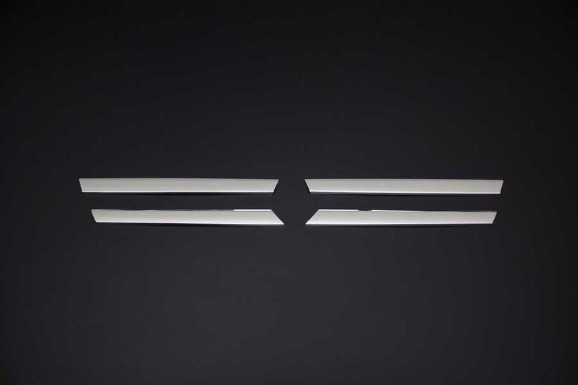 Krom Aksesuar » Omsa - Mercedes Vito/W639 Facelift Krom Ön Panjur 4 Parça 2010-2014 Arası
