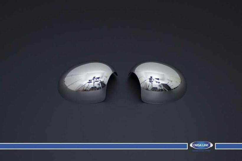 Krom Aksesuar » Omsa - Mini Cooper R56 Krom Ayna Kapağı 2 Parça 2006 ve Sonrası