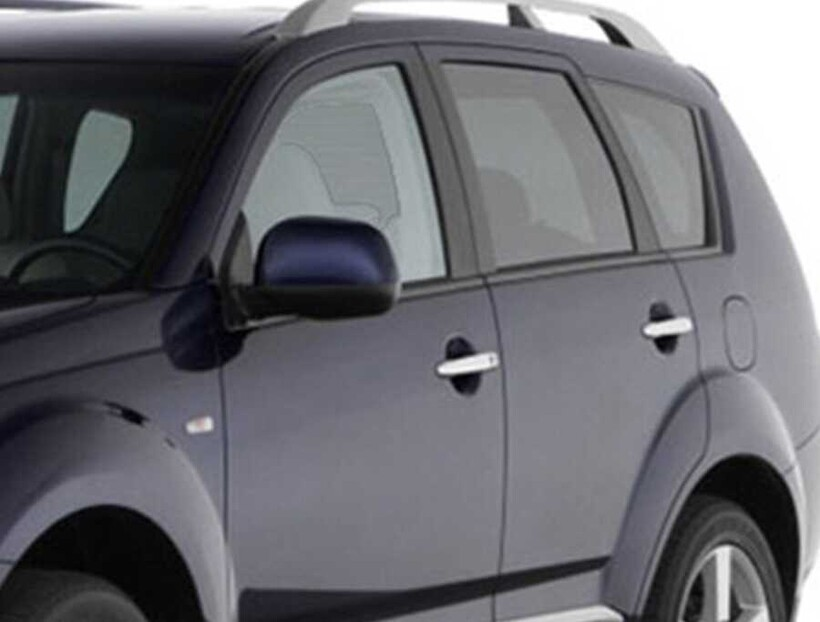 Krom Aksesuar » Omsa - Mitsubishi Lancer Krom Kapı Kolu 8 Parça Tek Delik Çift Sensörlü 2007 ve Sonrası