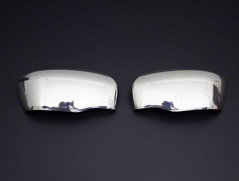 Krom Aksesuar » Omsa - Nissan Navara Krom Ayna Kapağı 2 Parça 2016 ve Sonrası