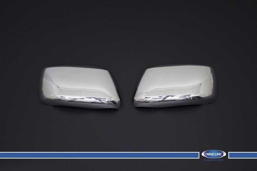 Krom Aksesuar » Omsa - Nissan Pathfinder Krom Ayna Kapağı 2 Parça 2005-2012 Arası
