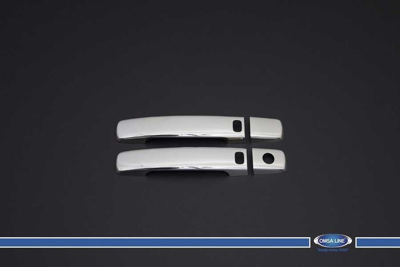 Krom Aksesuar » Omsa - Nissan Pathfinder Krom Kapı Kolu 2 Kapı Sensörlü 2005-2012 Arası