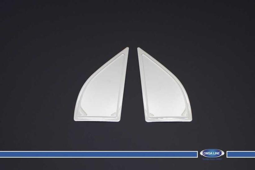 Krom Aksesuar » Omsa - Nissan Pathfinder Krom Kelebek Ön Yeri 2 Parça 2005-2012 Arası