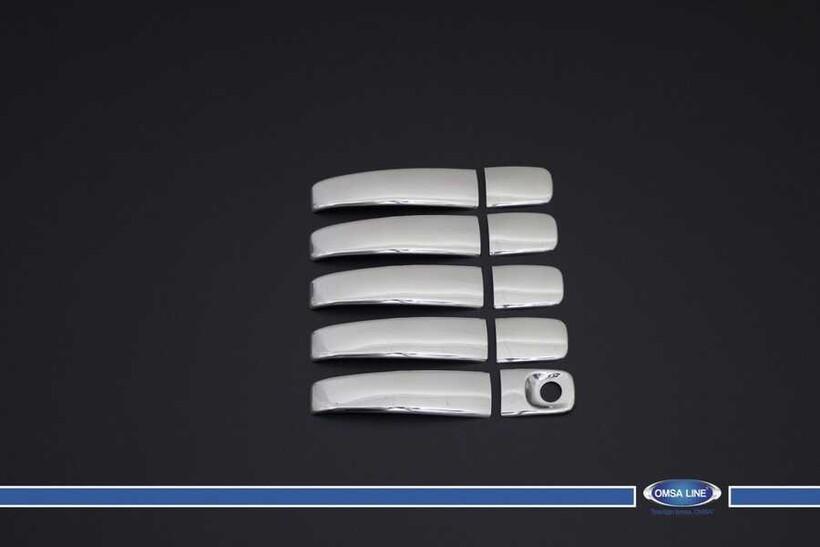 Krom Aksesuar » Omsa - Nissan Primastar Krom Deco Kapı Kolu 5 Kapı 2001-2014 Arası