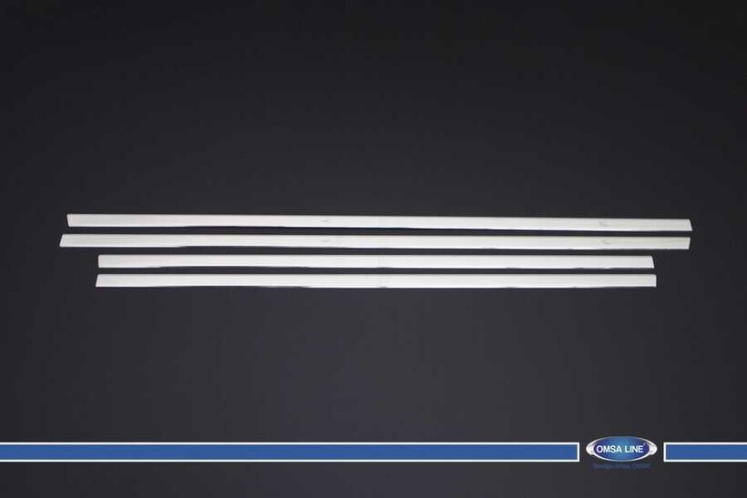 Krom Aksesuar » Omsa - Nissan Qashqai +2 Krom Cam Çıtası 4 Parça 2010-2014 Arası