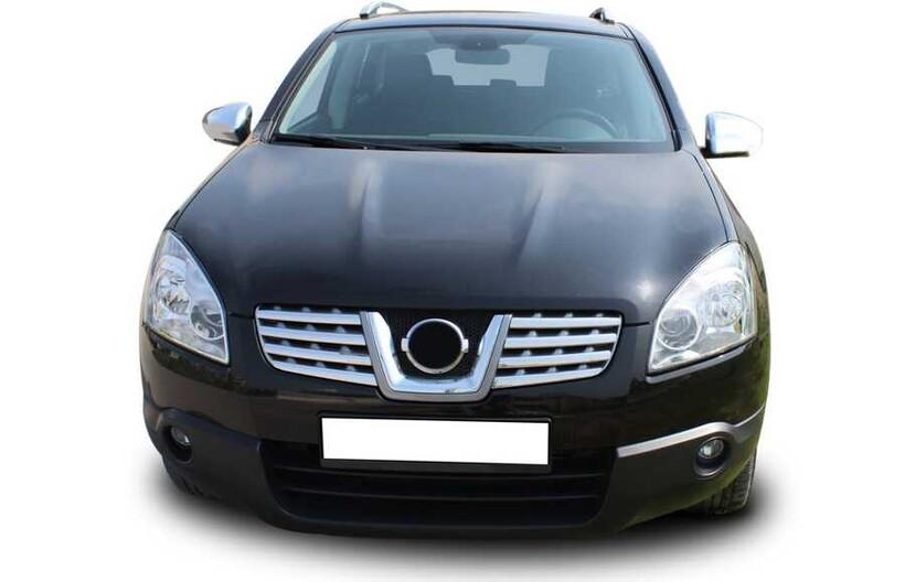 Krom Aksesuar » Omsa - Nissan Qashqai Krom Ön Panjur 8 Parça 2007-2014 Arası