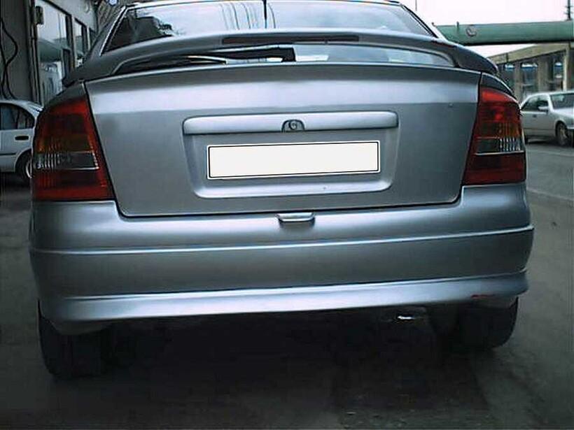 Body Kit » Fiber - Opel Astra G Spoiler Işıklı 2001-2009 Arası