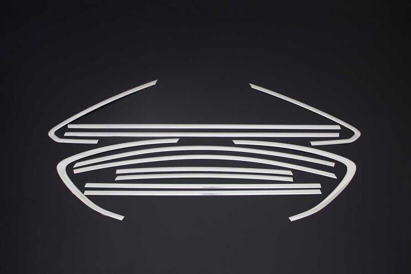 Krom Aksesuar » Omsa - Opel Astra J Sedan Krom Cam Çerçevesi 12 Parça 2012 ve Sonrası