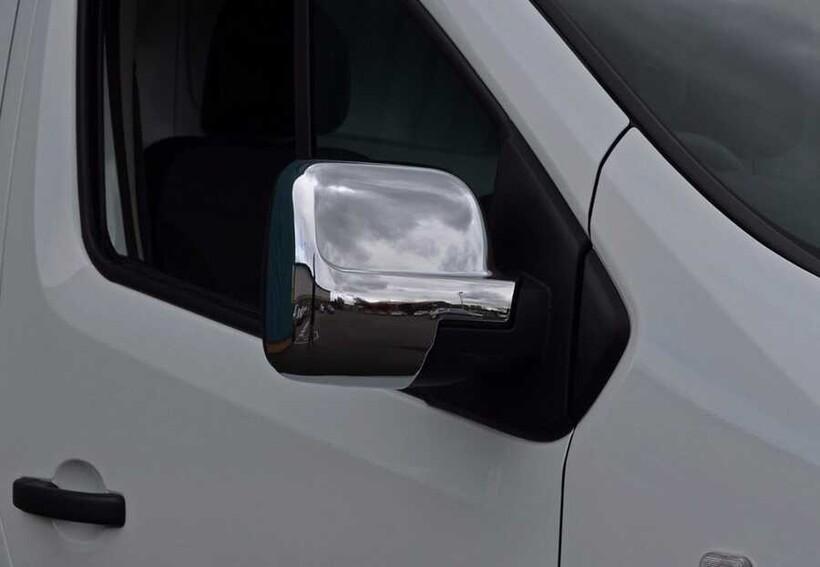 Krom Aksesuar » Omsa - Opel Vivaro 3 Krom Ayna Kapağı Abs 2014-2019 Arası