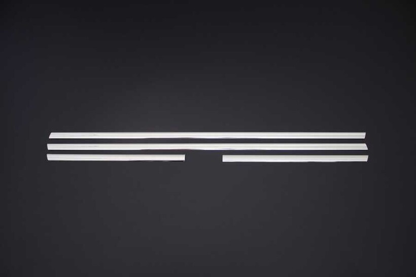 Krom Aksesuar » Omsa - Peugeot 207 Krom Cam Çıtası 4 Parça 2006-2012 Arası
