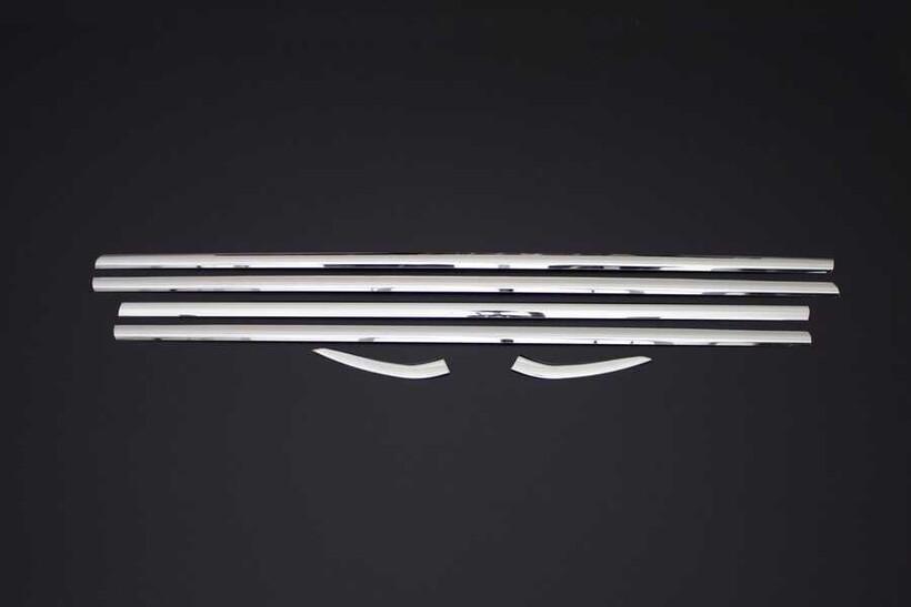 Krom Aksesuar » Omsa - Peugeot 301 Sedan Krom Cam Çıtası 6 Parça 2012 ve Sonrası