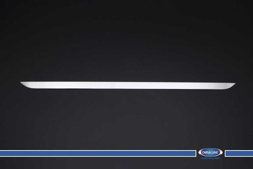 Krom Aksesuar » Omsa - Peugeot 308 HB Krom Bagaj Alt Çıta 2014 ve Sonrası