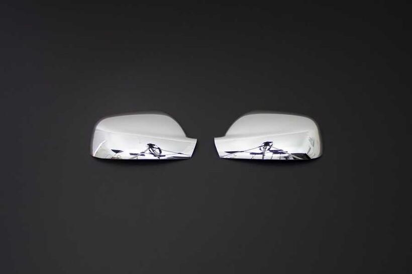 Krom Aksesuar » Omsa - Peugeot 407 Krom Ayna Kapağı 2 Parça 2004-2010 Arası