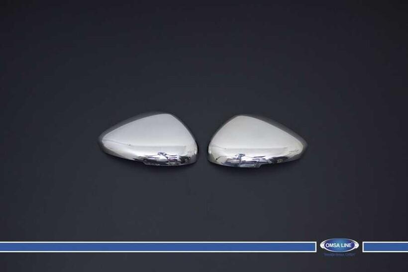 Krom Aksesuar » Omsa - Peugeot 508 Krom Ayna Kapağı Sinyalli 2 Parça 2010 ve Sonrası