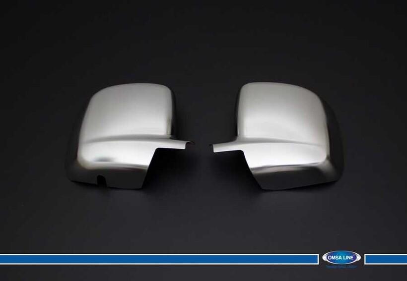 Krom Aksesuar » Omsa - Peugeot Bipper Saten Krom Ayna Kapağı 2 Parça Abs 2008 ve Sonrası