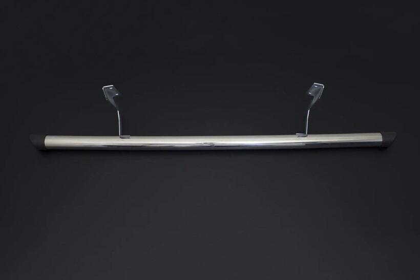Yan Basamak - Peugeot Expert Traveller Krom Boru Arka Basamak Plastik Kapak 2016 ve Sonrası