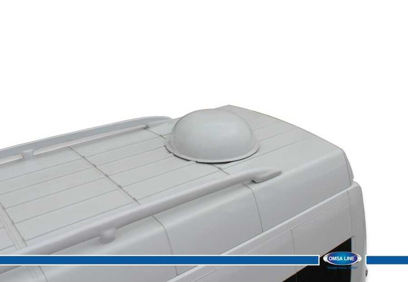 Body Kit » Fiber - Peugeot J9 Primer Tavan Çıtası