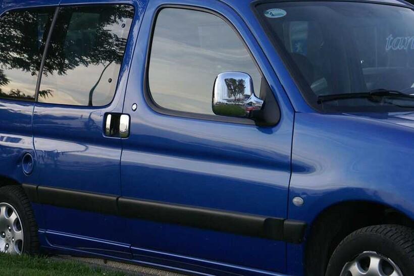 Krom Aksesuar » Omsa - Peugeot Partner Krom Ayna Kapağı 2 Parça Abs 1996-2008 Arası