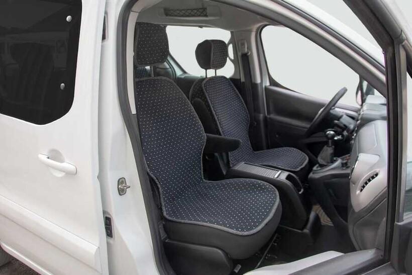 Oto Koltuk Kılıfı » Minder - Peugeot Partner Tepee ll Lüx Terletmez Minder Kılıf Set 9 Prç.Etekli (2008-)