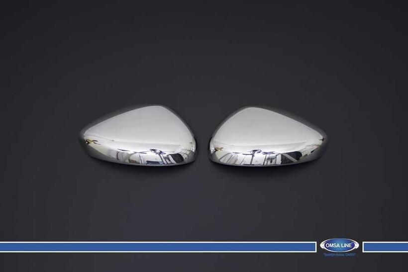Krom Aksesuar » Omsa - Peugeot Rcz Krom Ayna Kapağı 2 Parça 2010 ve Sonrası