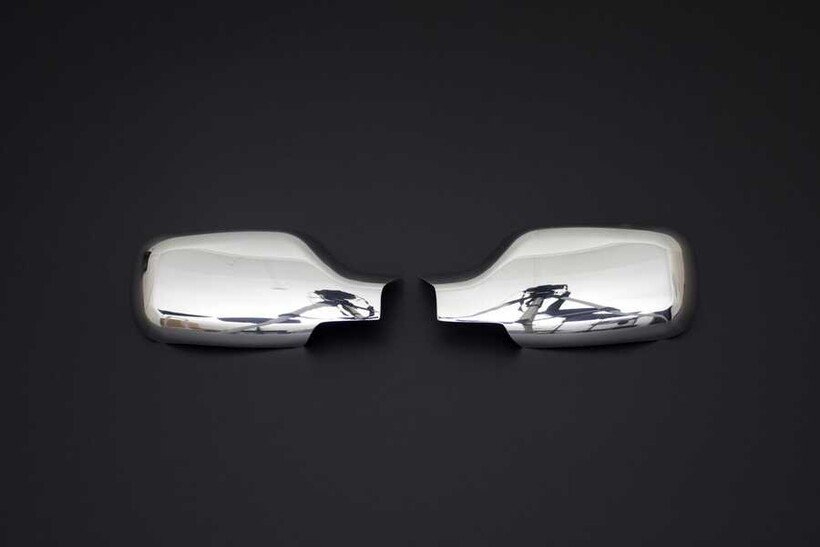 Krom Aksesuar » Omsa - Renault Clio 3 Krom Ayna Kapağı 2 Parça 2006-2009 Arası