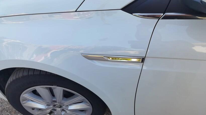 Krom Aksesuar » Omsa - Renault Megane 4 Krom Çamurluk Sinyal Çıtası 2 Parça 2021 ve Sonrası
