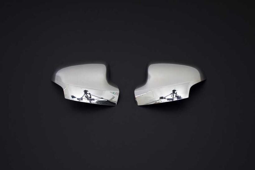 Krom Aksesuar » Omsa - Renault Symbol 3 Krom Ayna Kapağı 2 Parça 2013 ve Sonrası