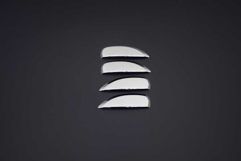Krom Aksesuar » Omsa - Renault Symbol 3 Krom Kapı Kolu 4 Kapı 2013 ve Sonrası