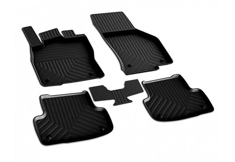 4D Paspas - Seat Ateca 4D Havuzlu Paspas Siyah 2016 ve Sonrası