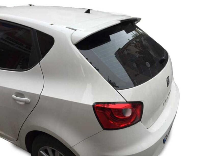 Body Kit » Plastik - Seat İbiza 4 Spoiler Tavan Üstü (Cupra Oem) Boyasız ABS 4 Kapı 2008-2017 Arası
