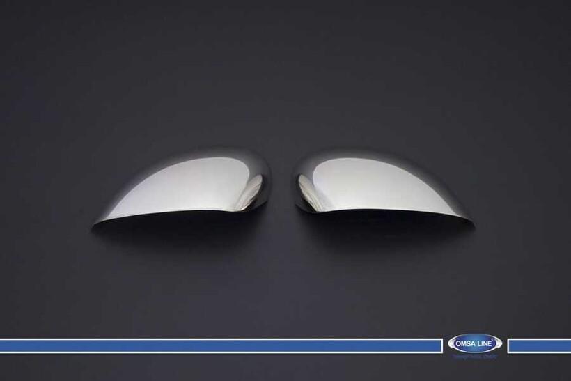Krom Aksesuar » Omsa - Seat Leon 1P Krom Ayna Kapağı 2 Parça (Makyajlı) 2010-2012 Arası