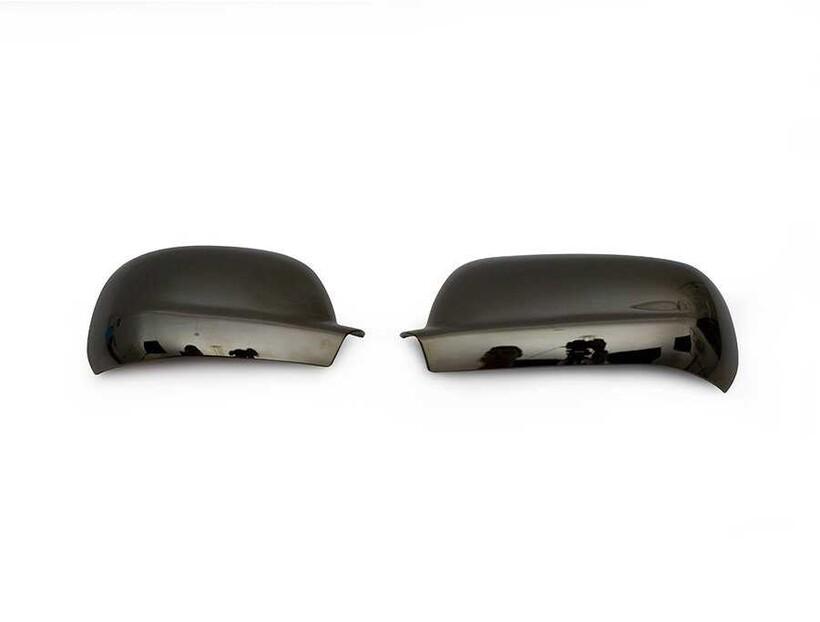 Krom Aksesuar » Omsa - Skoda Superb Siyah Krom Ayna Kapağı 2 Parça Abs 2001-2008 Arası