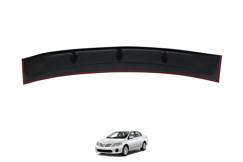Body Kit » Plastik - Toyota Corolla Cam Üstü Spoiler Piano Black 2008-2013 Arası