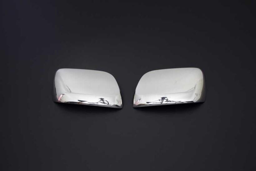 Krom Aksesuar » Omsa - Toyota Land Cruiser 200 Krom Ayna Kapağı 2 Parça 2008 ve Sonrası