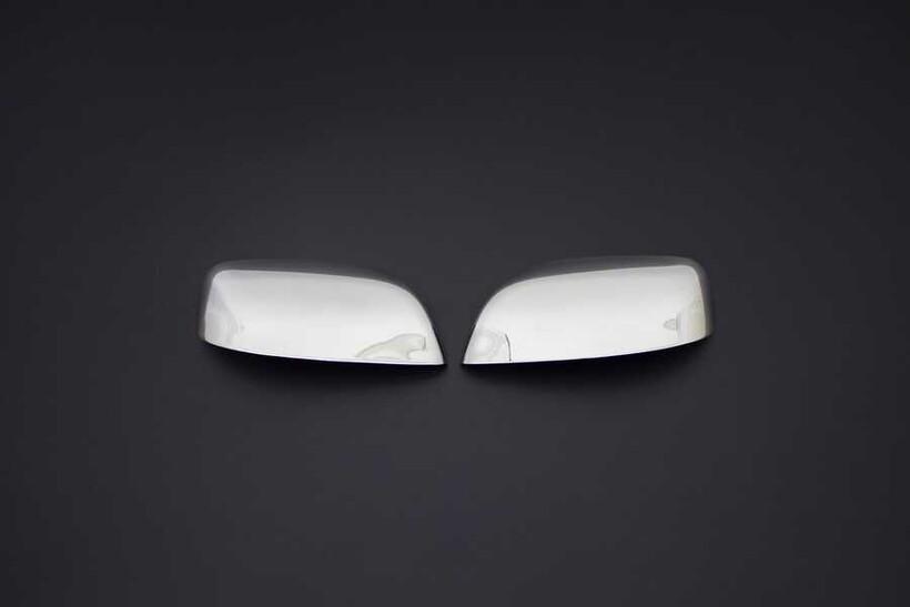 Krom Aksesuar » Omsa - Toyota Land Cruiser Prado 150 Krom Ayna Kapağı 2 Parça 2010 ve Sonrası
