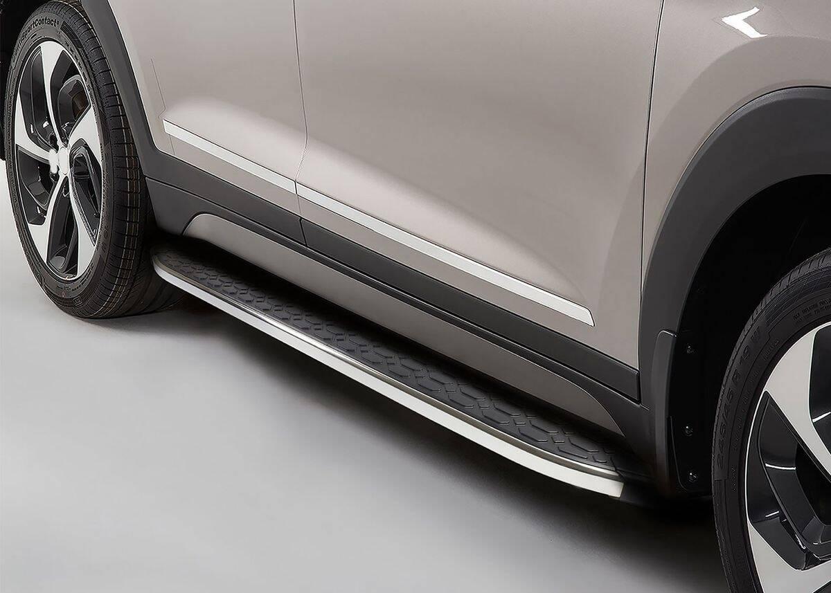 Volvo XC60 Blackline Yan Basamak Krom 2018 ve Sonrası