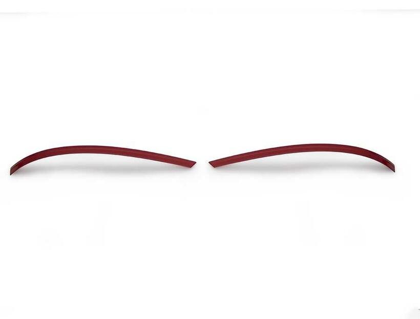 Krom Aksesuar » Omsa - VW Amarok Kırmızı Krom Ayna Çıtası 2 Parça 2010 ve Sonrası