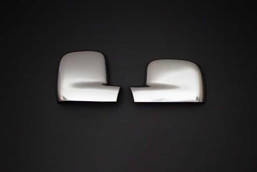 Krom Aksesuar » Omsa - VW Caddy Saten Krom Ayna Kapağı 2 Parça Abs 2003-2014 Arası