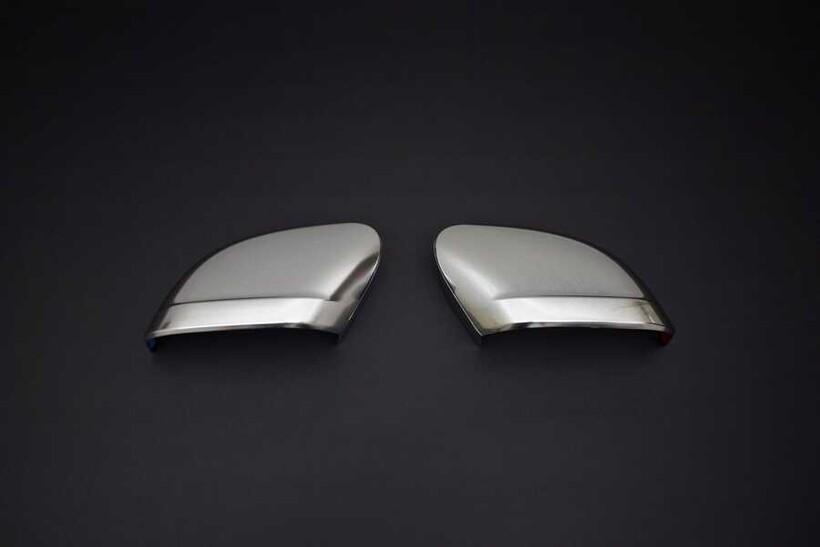 Krom Aksesuar » Omsa - VW Caddy Saten Krom Ayna Kapağı 2 Parça Abs 2015 ve Sonrası