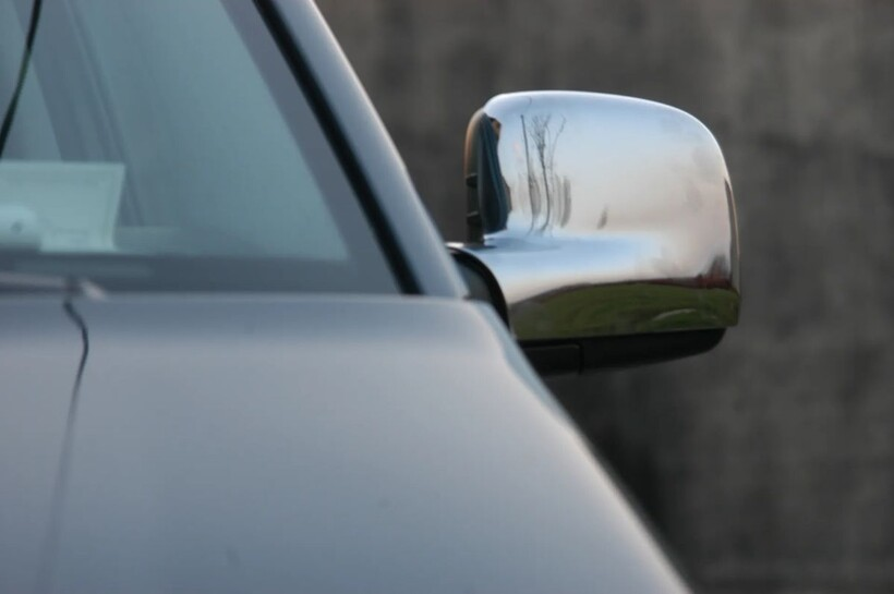 Krom Aksesuar » Omsa - VW Caddy Krom Ayna Kapağı 2 Parça Abs 2003-2014 Arası