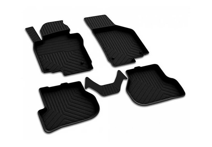 4D Paspas - VW Golf 6 4D Havuzlu Paspas Siyah 2008-2011 Arası