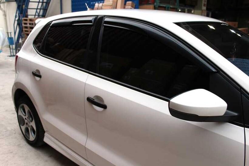 Cam Rüzgarlığı - VW Golf 6 Sunplex Mugen Cam Rüzgarlığı 4 Parça 2010-2013 Arası
