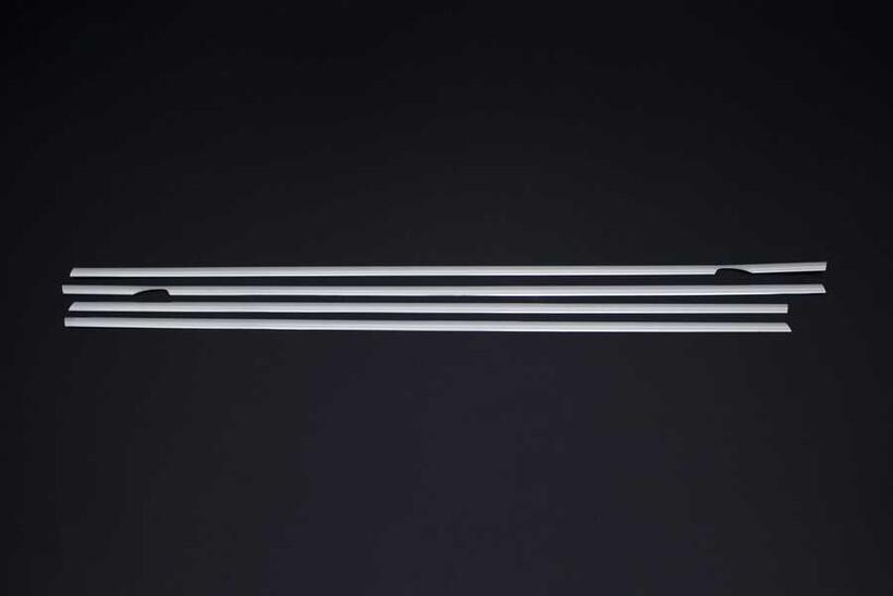 Krom Aksesuar » Omsa - VW Golf 6 Krom Cam Çıtası 4 Parça 2010-2013 Arası