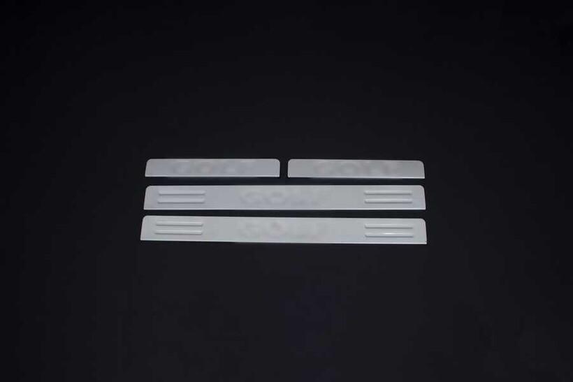 Krom Aksesuar » Omsa - VW Golf 6 Krom Kapı Eşiği 4 Parça 2010-2013 Arası